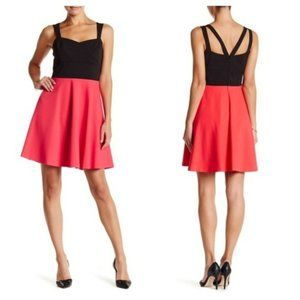 NWT CeCe Cynthia Steffe Margot Colorblock Dress
